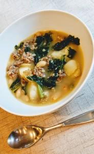 hearty kale soup