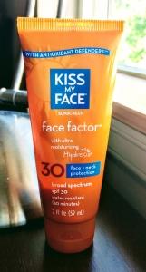 Kiss my face face factor spf 30