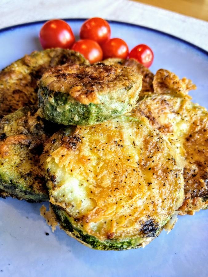 fried zucchini squash