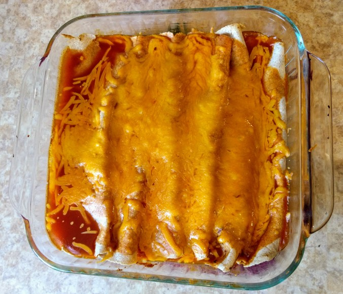 enchiladas in pan