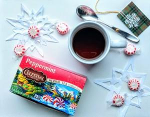 celestial seasonings peppermint tea