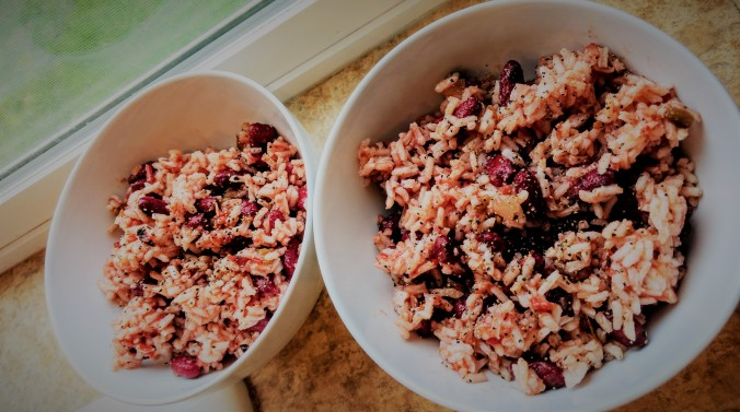 simple red beans and rice