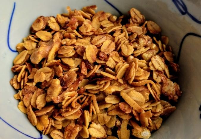super simple granola recipe